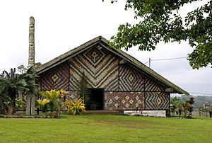 Malvatu Mauri - Assembly building, National Council of Chiefs, Port Vila, Vanuatu