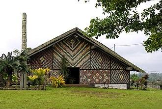 Malvatu Mauri - Assembly building, National Council of Chiefs, Port Vila, Vanuatu