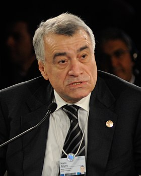 Natiq Aliyev - World Economic Forum on the Middle East, North Africa and Eurasia 2012 crop.jpg