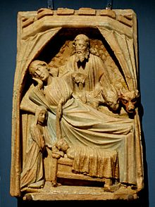 Nativity alabaster MNMA Cl23755.jpg