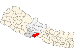 Location of Nawalparasi