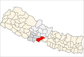 Nawalparasi District - Location of Nawalparasi