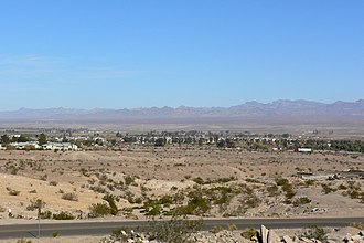 Mohave Valley - Image: Needles California from southwest 1