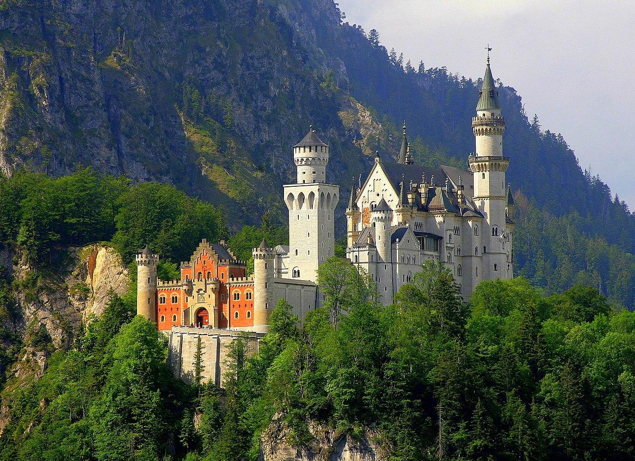 Vista del castillo desde el noroeste