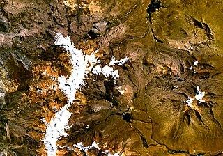 Casiri (Tacna) volcano in Peru