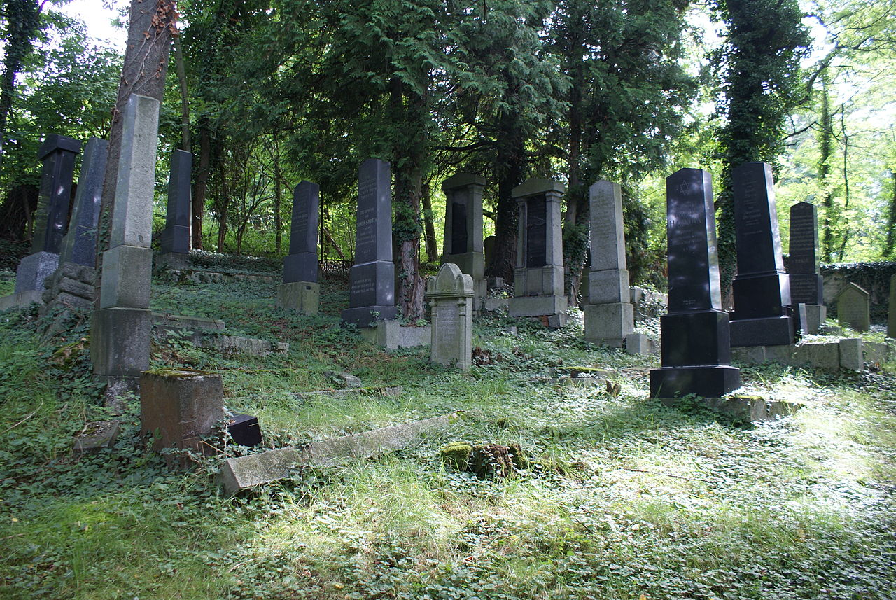 New Jewish cemetery in Švihov 18.JPG