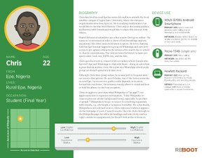 New Readers User personas, Chris, Nigeria.pdf