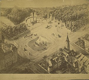 Grand Army Plaza (Manhattan) - Image: New York City. Plan for Entrance to Central Park (3678964534)