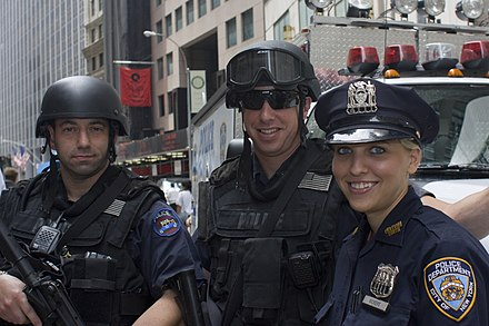 Officers from the Emergency Service Unit New York Police Department officers.jpg