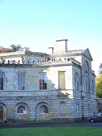 New Wardour Castle - Image: Newwardourwing