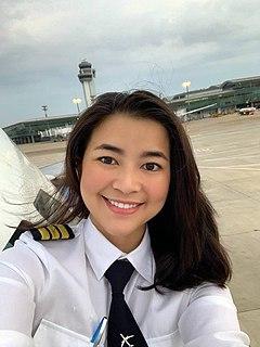 Nguyễn Trần Diệu Thúy Vietnamese pilot, model, and actress