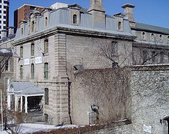 Nicholas Street - Ottawa Jail Hostel at 75 Nicholas Street.