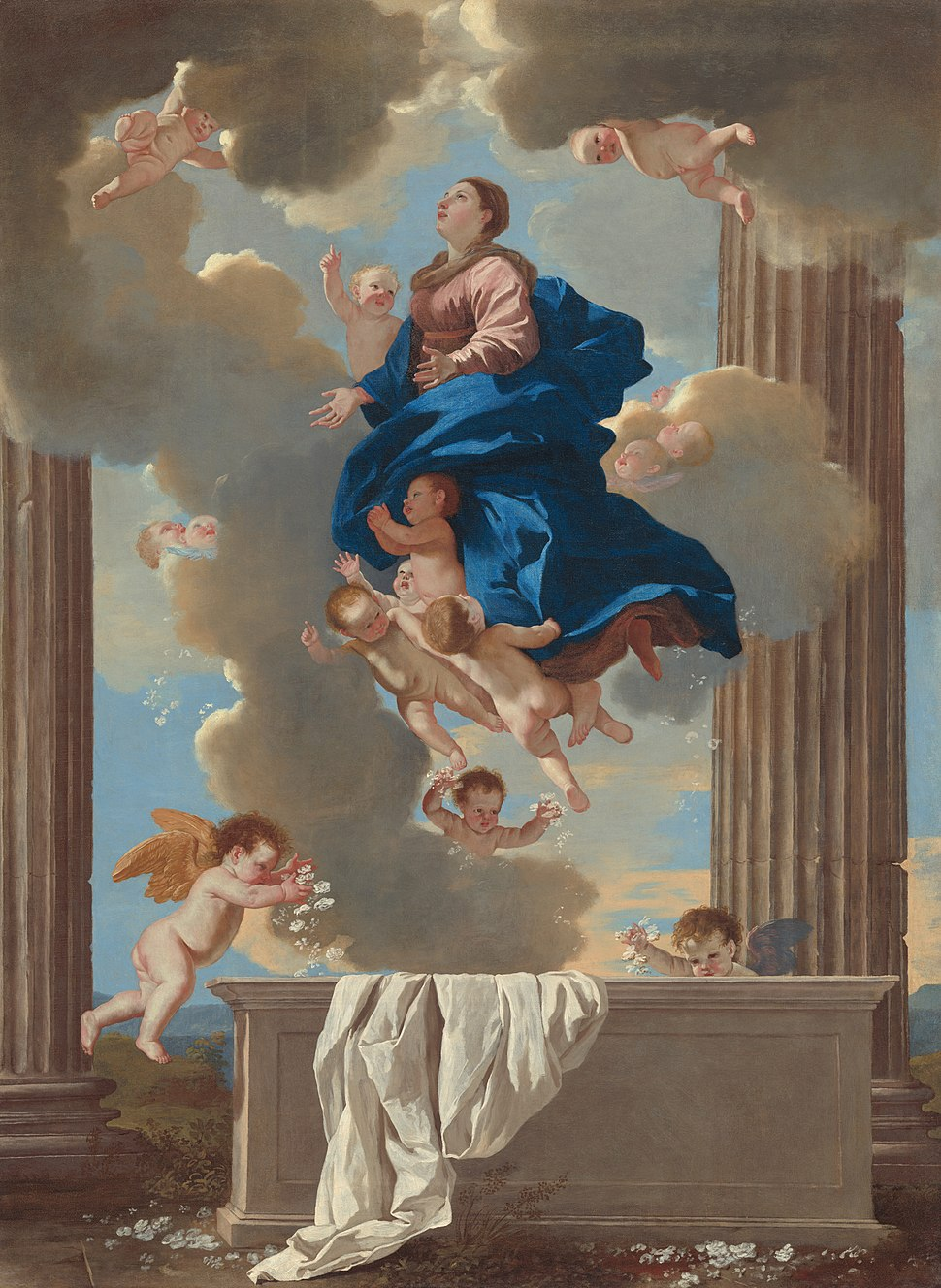 Nicolas Poussin - The Assumption of the Virgin