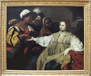 Nicolas Régnier - Nicolas Regnier's La Diseuse de Bonne Aventure, 1626, Musée du Louvre.