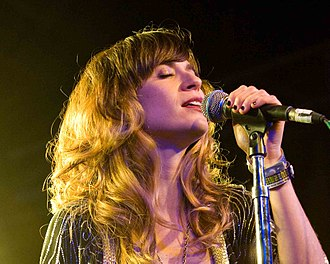 Nicole Atkins - Nicole Atkins performs at La Zona Rosa during SXSW in Austin, Texas, on March 18, 2010