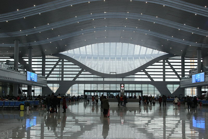 Ningbo New Railway Station Interior.JPG