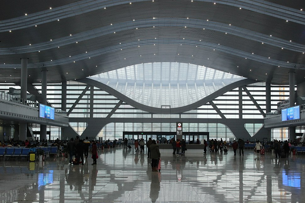 Ningbo New Railway Station Interior