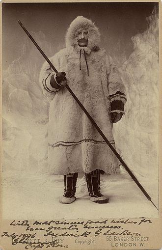 Frederick George Jackson - In winter gear, 1896