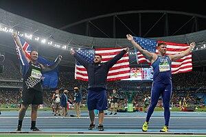 Athletics at the 2016 Summer Olympics – Men's shot put - Image: Noite de atletismo no Engenhão 1038903 18.08.2016 ffz 7672
