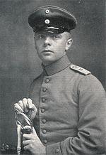 Norbert von Hellingrath during World War I (Source: Wikimedia)