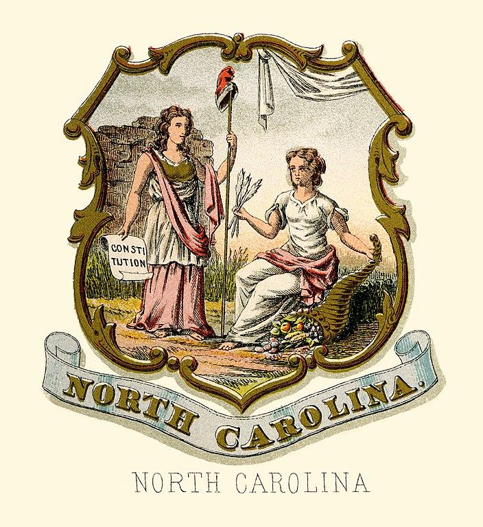 Filenorth Carolina State Coat Of Arms Illustrated 1876g