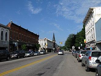 North East, Pennsylvania - Main Street, looking west toward Lake Street (PA 89)