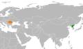 North Korea Romania Locator (cropped).png