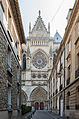 North Transept of Reims Cathedral and Rue de Préau 20140306 21.jpg