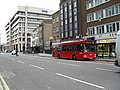 Number 100 bus in Aldgate High Street - geograph.org.uk - 1836643.jpg