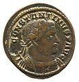 Nummus of Constantine (YORYM 2001 10313) obverse.jpg
