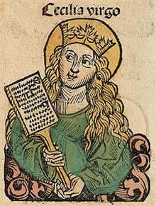 Santa Cecilia Wikipedia Imagen