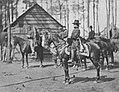 O'Sullivan, Timothy H. - Brandyhalte, Virginia, General Ingalls auf dem Pferd (Zeno Fotografie).jpg