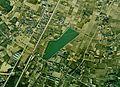 O-numa water reservoir in Oyama-city Aerial photograph.1974.jpg