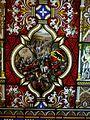 Oberhofen Schloss Oberhofen Innen Raum mit Glasmalereien 12.JPG