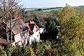Oberrißdorf (Lutherstadt Eisleben), view to the ravine.jpg