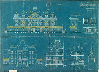 Architectural drawing from the Engetrim archive, ref. obj-0000183