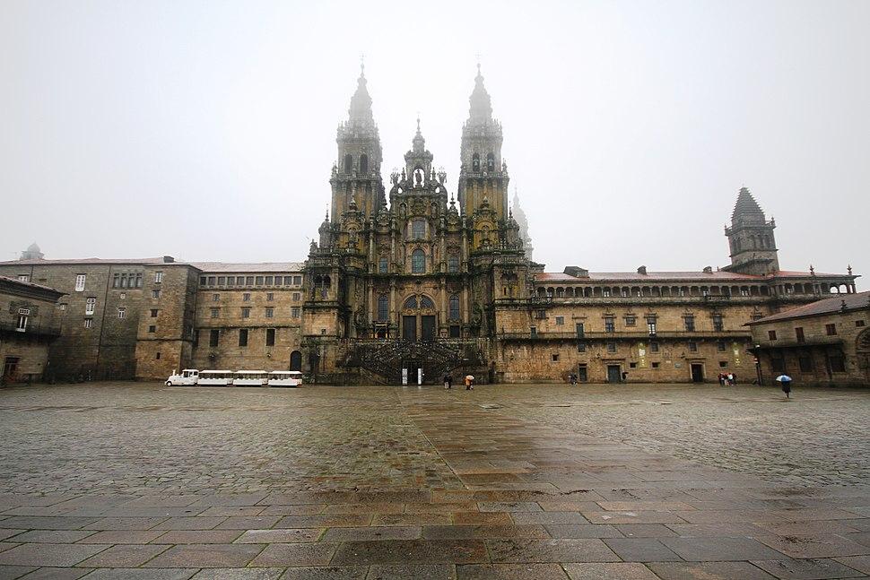 Obradoiro facade - Cathedral of Santiago de Compostela (5)
