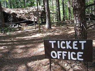 Occoneechee Speedway - Image: Occoneechee tickets
