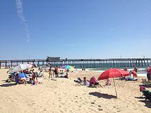 Ocean City Pier And Beach