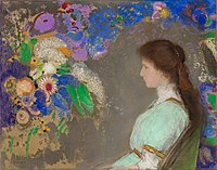 Portrait of Violette Heymann, 1910. Pastels, 72 x 92 cm. Cleveland Museum of Art.