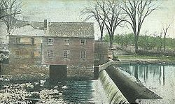 Old Mill and Dam, Durham c. 1908