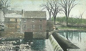 Durham, New Hampshire - Old Mill and Dam, Durham c. 1908