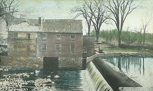 Old Mill & Dam, Durham, NH