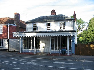 Hurst Green, East Sussex - Image: Old Post Office in Hurst Green