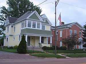 Tipp City, Ohio - Houses on Main Street
