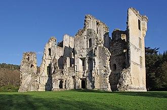 Wardour Castle - Image: Old Wardour castle