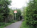 Old fashioned BR sign at Hilsea Station - geograph.org.uk - 776893.jpg