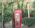 Old fashioned telephone box in the centre of Llanengan village - geograph.org.uk - 638267.jpg