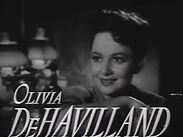 Olivia De Havilland in de trailer van In This Our Life
