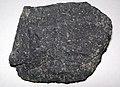 Olivine basalt (Cedar Canyon, Iron County, Utah, USA) 2 (48680328316).jpg